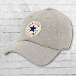 Converse Sweatshirt Baseball Cap grau meliert