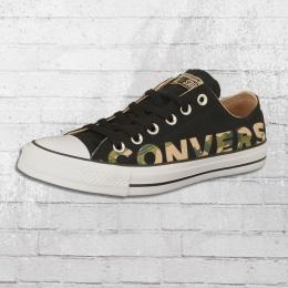 Converse Unisex Chucks CT AS OX Schuhe schwarz camo