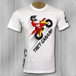 DC Shoes Trey Canard Männer T-Shirt TC Launched weiss