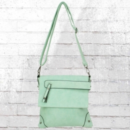 Dariya Damen Umhängetasche pastell grün