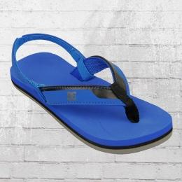 DC Shoes Baby und Kinder Zehentrenner Sandalen Grommet blau