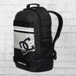 DC Shoes Bordhalter Rucksack Skatepack Grind Backpack schwarz grau weiss