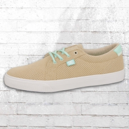 DC Shoes Damen Leder Schuh Council LE hellbraun