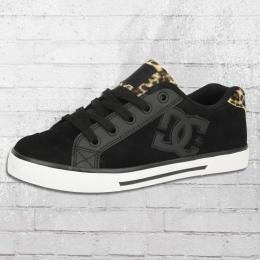 DC Shoes Damen Sneaker Chelsea SE schwarz leo