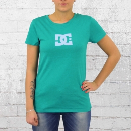 DC Shoes Damen T-Shirt Star Tee blue grass
