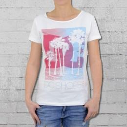 DC Shoes Damen T-Shirt Tourista weiss