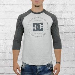 DC Shoes Dreiviertel Arm Longsleeve T-Shirt Männer Rebuilt grau