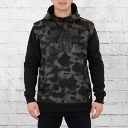 DC Shoes Dryden Snowboard Hoody schwarz camouflage