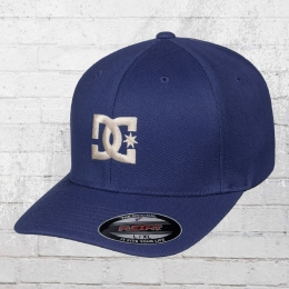 DC Shoes Flexfit Cap Star Flexfit Mütze blau