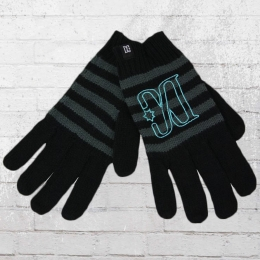DC Shoes Frauen Finger Handschuhe Hide Gloves schwarz