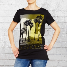 DC Shoes Frauen T-Shirt Tourista schwarz