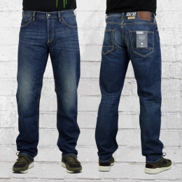 DC Shoes Herren Jeanshose Roomy Washed dunkelblau