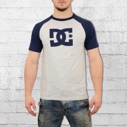 DC Shoes Herren Raglan T-Shirt Star blau grau