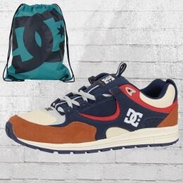 DC Shoes Herren Schuhe Kalis Lite braun blau creme