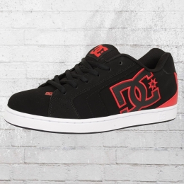 DC Shoes Herren Sneaker Net schwarz rot