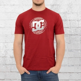 DC Shoes Herren T-Shirt Heraldry rot