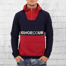 DC Shoes Kapuzensweater Longden blau rot