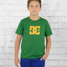 DC Shoes Kinder Basic T-Shirt Star grün gelb