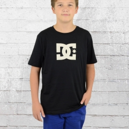 DC Shoes Kinder Basic T-Shirt Star schwarz beige