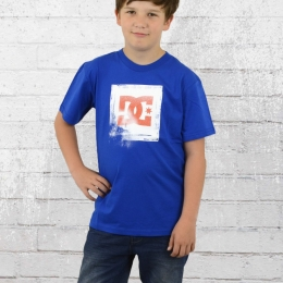 DC Shoes Kinder T-Shirt Blowout royal blau