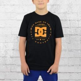 DC Shoes Kinder T-Shirt Rebuilt schwarz orange
