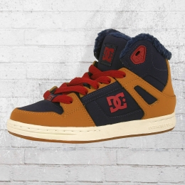DC Shoes Kinder Winterschuhe Rebound Winter beige blue red