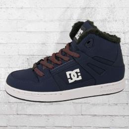 DC Shoes Kinder Winterschuhe Rebound WNT dunkelblau