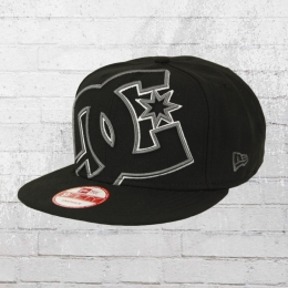 DC Shoes New Era Snapback Cap Double Up schwarz