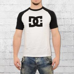 DC Shoes Raglan Star T-Shirt weiss schwarz