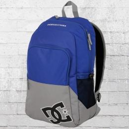 DC Shoes Rucksack Detention 2 Backpack Laptop-Fach blau grau