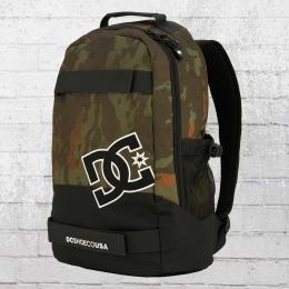 DC Shoes Rucksack Grind Backpack mit Board-Halter oliv camo