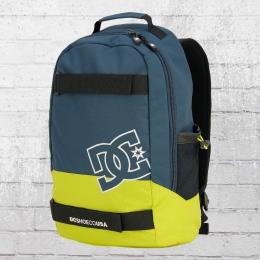 DC Shoes Rucksack Grind Backpack mit Board-Halter petrol limette