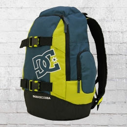 DC Shoes Rucksack Wolfbred 2 Backpack mit Board-Halter petrol