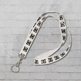 DC Shoes Schlüsselband Oh Joy Lanyard white