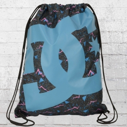 DC Shoes Simpski Gym Bag Turnbeutel schwarz blau