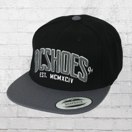 DC Shoes Snapback Base Cap Slipper M Hat schwarz