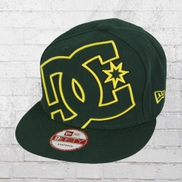DC Shoes Snapback New Era Mütze Double Up Cap grün