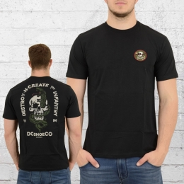 DC Shoes Special T-Shirt First Infantry schwarz