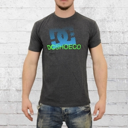 DC Shoes T-Shirt Herren Way Back Star dunkelgrau melange