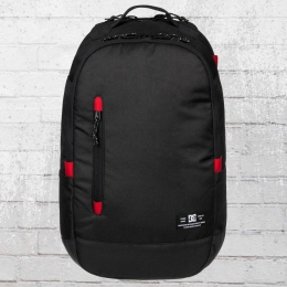 DC Shoes Trekker Backpack Laptop-Fach Rucksack schwarz