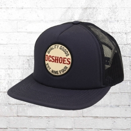 DC Shoes Trucker Kappe Snapback Cap Toolshead blau