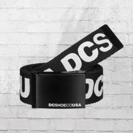 DC Shoes Wende Gürtel Chinook 6 Reversible Belt schwarz weiss