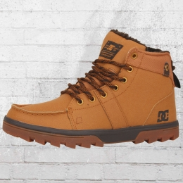 DC Shoes Winterschuhe Woodland Stiefel beige