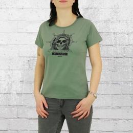 Derbe Damen T-Shirt Totdy grün