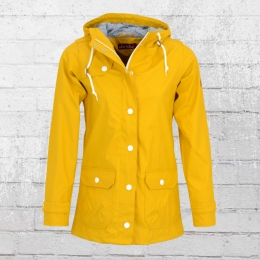 Derbe Frauen Regenjacke Peninsula Fisher gelb