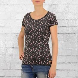 Derbe Frauen T-Shirt Voilier anthrazit