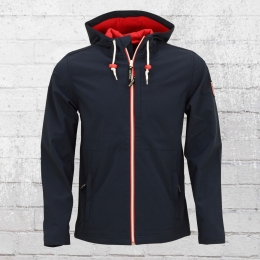 Derbe Hamburg Herren Softshell Jacke Isle Of Sky navy