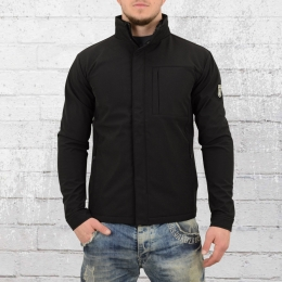 Derbe Hamburg Herren Softshell Jacke Seaforth schwarz