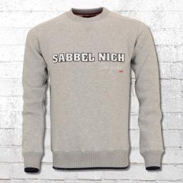 Derbe Hamburg Herren Sweatshirt Dat Geiht grau