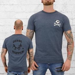 Derbe Hamburg Herren T-Shirt Derbe Ruppen blau